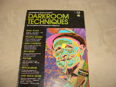 Petersen's Guide to Creative DARKROOM TECHNIQUES 1973 Printing