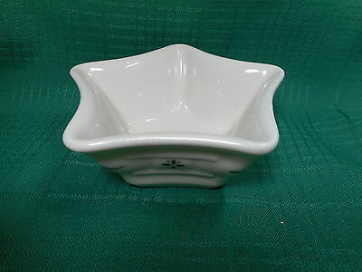 Longaberger  Woven Tradition Small Star Dish Green