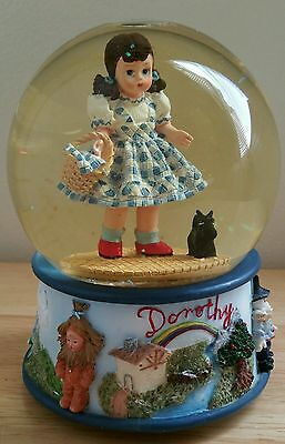 Vintage Wizard of Oz/Dorothy Snowglobe and Music Box by Madame Alexander
