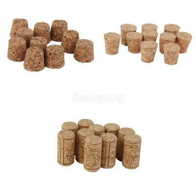 30pcs Tapered Corks Stoppers DIY Craft Art Model Building 3 Size