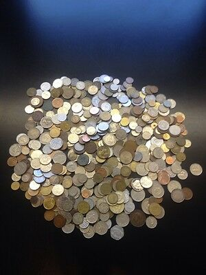 1/4 Lb POUND LOT WORLD FOREIGN COINS