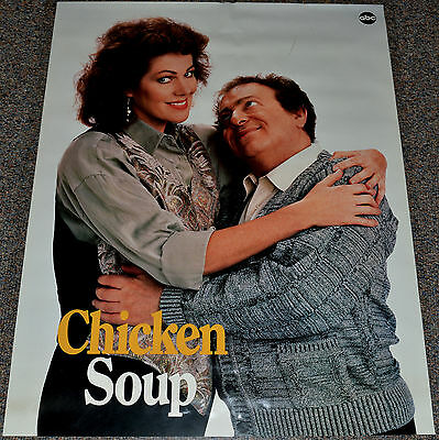 CHICKEN SOUP 1989 ORIGINAL 25x33 PROMOTIONAL POSTER! JACKIE MASON ABC-TV COMEDY!