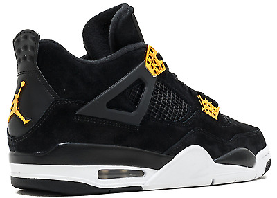 d4b44836d4f Nike Air Jordan IV Retro 4 Royalty Black Gold White 308497-032 (Authentic)