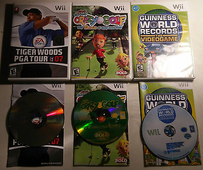 wii game lot