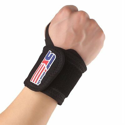 SX503 Sport Basketball Gym Wrist Thumb Support Straps Training Bands Black P5