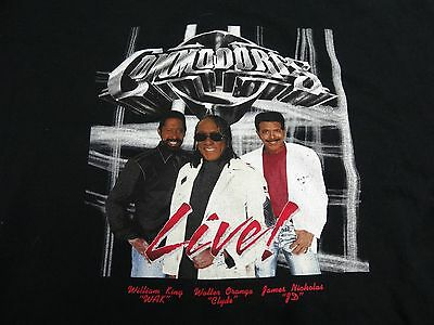 The Commodores Tour Shirt Large Wak Clyde Jd Motown 2XL