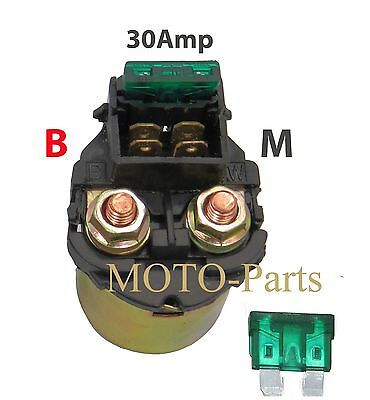 Magnetic Switch Solenoid Relay Honda VF1000R VT500C VFR700F Extra Fuse