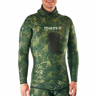 Mares Instinct 7.0mm Scuba Diving Wetsuit Jacket - Med/Long - Camo Green