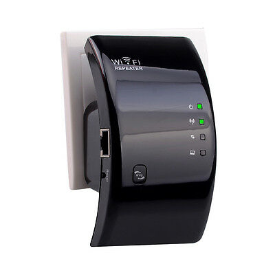 Wireless 802.11N WPS 300Mbps Wifi Repeater AP Router Range Expander Excellent