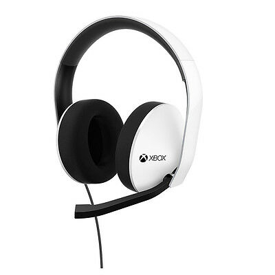 Microsoft Xbox One Special Edition Stereo Gaming Headset - White (5F4-00010)