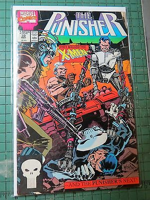 The Punisher #33 Marvel Comics Copper Age Comic  CB192