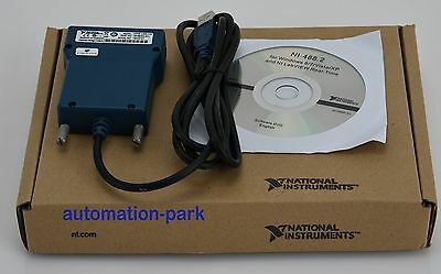 New National Instrumens  GPIB-USB-HS Interface Adapter controller IEE GPIBUSBHS