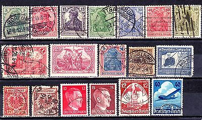 GERMANY 1889-1941 Collection mint/used.