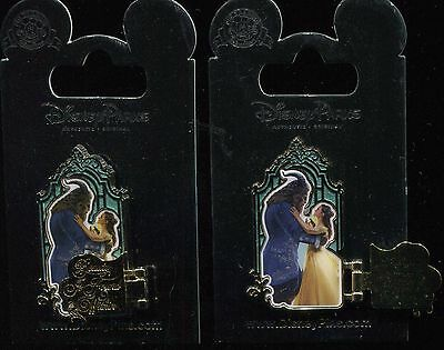 Beauty and the Beast Live Action Belle Beast Is Found Within Hinged Disney Pin