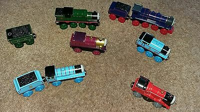 Bundle of Thomas the Tank Engine trains for wooden track (eg: Brio)