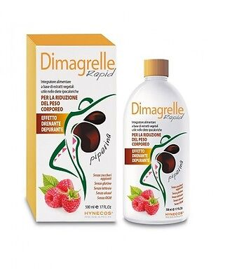 Dimagrelle Rapid Piperina per dimagrire velocemente 500ml