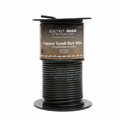 ElectroBraid Electrical Wire UGCC200-EB High Voltage Insulated Copper Lead Out
