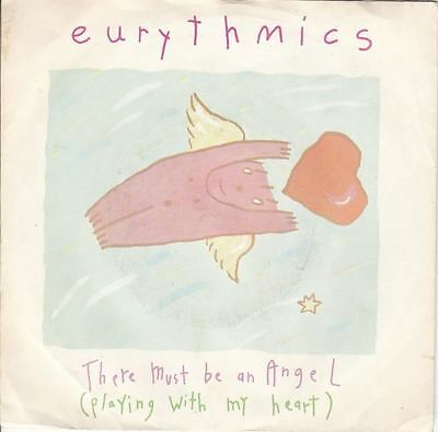 "There Must Be An Angel (Playing With My Heart) 7"" : Eurythmics"