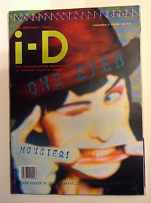 I-D Magazine-Issue 31-November 1985-The Spectator Issue-Nice Condition
