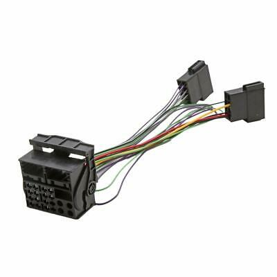 Audi RCD210 Retro Fit Adaptor Wiring Harness Lead ISO to Quadlock