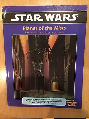 West End Games Star Wars Planet Of The Mists