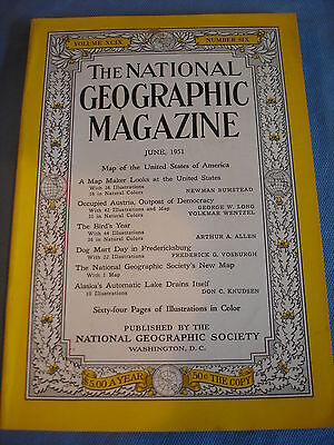 National Geographic- June 1951- Occupied Austria - The bird's year