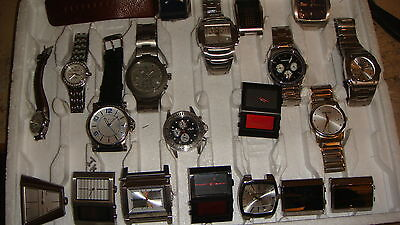 TRADE ONLY JOB LOT OF 20 X  MIXED  names  WATCHES ,,100% GEN