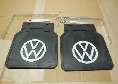 Spatlappen - Mud flaps with VW emblem Beetle Käfer Type 1