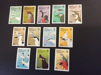 British Indian Ocean Territory SG90/101 Definitives Birds - MNH - Unmounted Mint