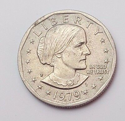 U.s.a - Dated 1979 - $1 One Dollar Coin - American Coin