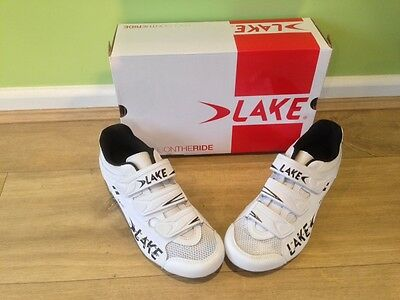 Lake CX160 Womens White road shoes size 39