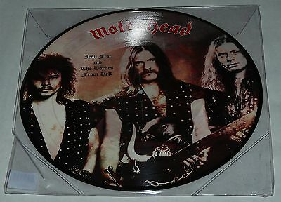 Motorhead Iron Fist and The Hordes From Hell LP Picture Disc Live 1978 LP NEW