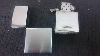Zippo Classic Brushed Chrome / Silver lighter - Petrol Windproof