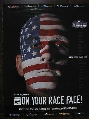 F1 USA Grand Prix Official poster 2005