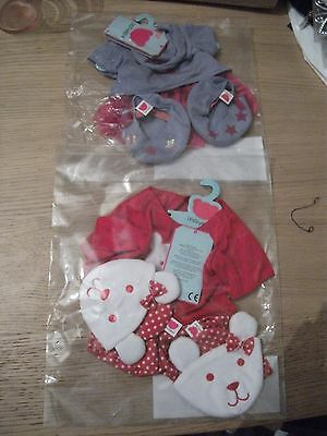 2 sets New Chad Valley Design A Bear Dress Outfits