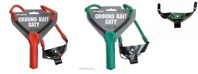 DRENNAN GROUNDBAIT CATY CATAPULT RANGE - ELASTIC or RED or GREEN CRADLE or PULT