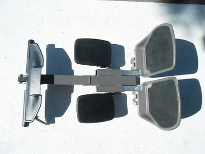 Permobil wheelchair Foot rest assembly