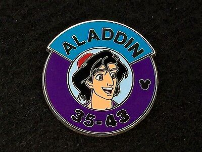 Disney Trading Pin - Hidden Mickey 2014 Wave A Heroes Parking Sign Aladdin 99876