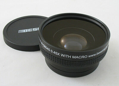 Besel 58mm 0.45x Wide Angle Macro Conversion Lens
