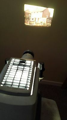 Aldis Tutor 500 Slide Projector Twin and 35mm Strip Film Boxed