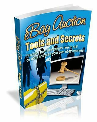 eBay Strategies Tools and Secrets eBook-PDF Master Resell Rights Free Shipping