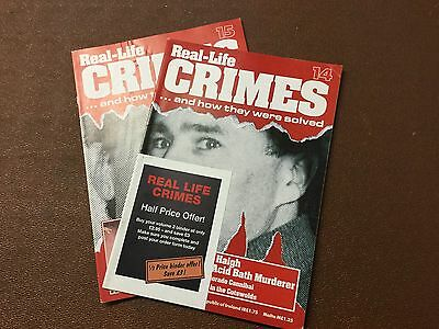 Real Life Crimes Magazine Issues 14 And 15