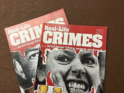Real Life Crimes Magazine Issues 31 And 32