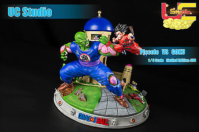 Dragon Ball Piccolo Vs Goku Gokou Kid Resin Figure Figura Statue New