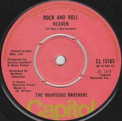 Rock And Roll Heaven 7 : The Righteous Brothers