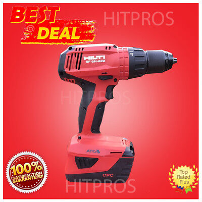 Hilti Sf 6H-A22 Cordless Hammer Drill Driver, 2 Batteries, New Model, Fast Ship
