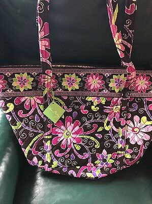 VERA BRADLEY Miller Travel Bag PURPLE PUNCH New With Tags, Carry On