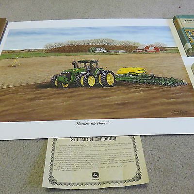 John Deere Limited Edition Print From 2005 Intro Harness the Power #5017