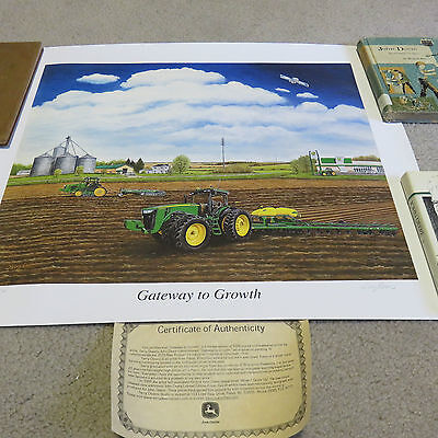 """2010 Limited Edition John Deere """"Gateway to Growth"""" Print #1037"""