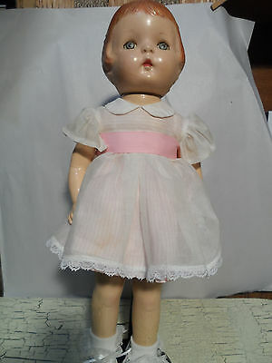 """Antique Baby Doll (stands about 19"""" tall)"""